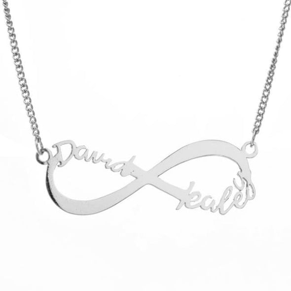 Custom Infinity Necklace - Necklace
