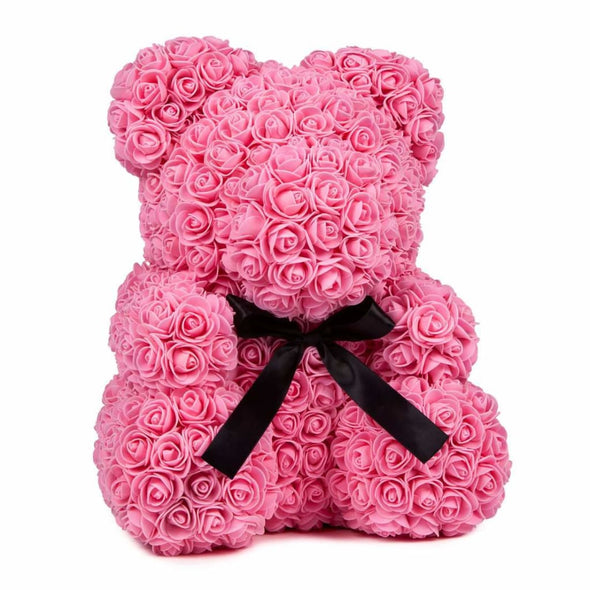 Luxury Rose Bear - Pink