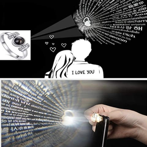 100 Languages - I Love You Ring