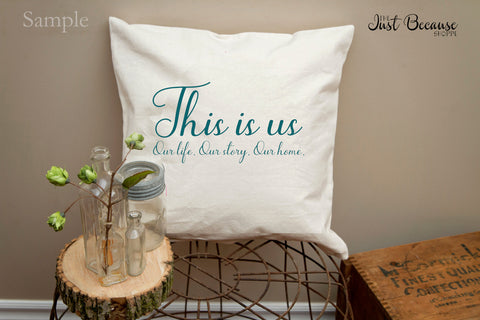 SVG This is Us Our Life Our Story Our Home, Gallery Wall SVG File