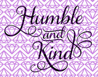 SVG Humble And Kind Gallery Wall Home Decor Svg Humble Svg Kind Svg DIY Sign Svg