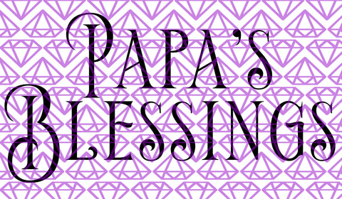 SVG Papa's Blessing, Gift for Grandfather SVG File