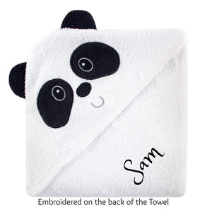 Personalized Name Hooded Baby Towel- 4 Styles