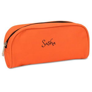 Personalized  durable Pencil case / Travel purse - 8 Colors