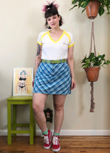 Baby Blues Plaid Skort - 2X