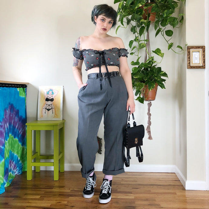Gray Trousers - 2X/3X