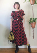 Vintage Rose Maxi Dress - L/XL/2X