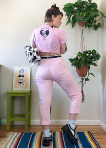 Valfre Sick of Pretty Boys Tie Front Top - XL