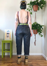 Vintage Stone Wash Faded Black Jeans - 2X
