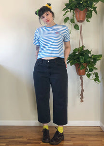 Black Levi's Relaxed Fit Jeans - 2X