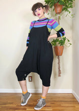 Black Drop Crotch Convertible Jumpsuit - XL/2X