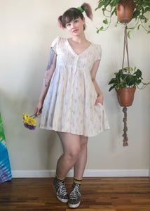 Cream Babydoll Dress - L/XL