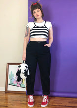 Vintage Deadstock Dream Black Mom Jeans - XL