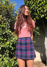 Plaid Mini Skirt - M/L