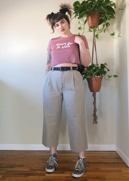 Vintage Cropped Levi's Dockers - 2X
