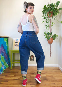 Vintage Classic Mom Jeans with Relaxed Fit - 3X