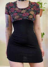 Vintage Floral Mini Dress - M/L/XL