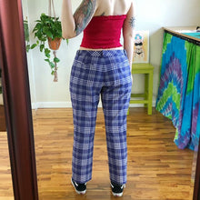 Nike Purple Plaid Trousers - XL/2X