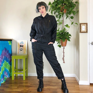 Vintage Windbreaker Jumpsuit - L/XL