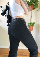 Vintage Black Stretch Jeans - XL