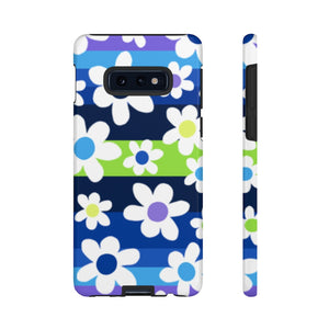 My Aqua Floral Phone Case