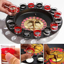 16 Cups Roulette Wheel Wine Glass Game Turntable The Affordable Panda