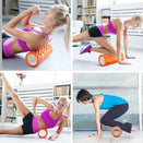 30x10cm Yoga Foam Roller Pilates Home Gym Massage Exercise Fitness Pleasures Of Life