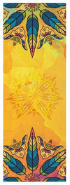 Yoga Mat Towel Microfiber Non Slip Ultra Absorbent Towel - Bikram Yoga bikram yoga Pleasures Of Life Gold
