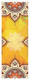 Yoga Mat Towel Microfiber Non Slip Ultra Absorbent Towel - Bikram Yoga bikram yoga Pleasures Of Life Orange