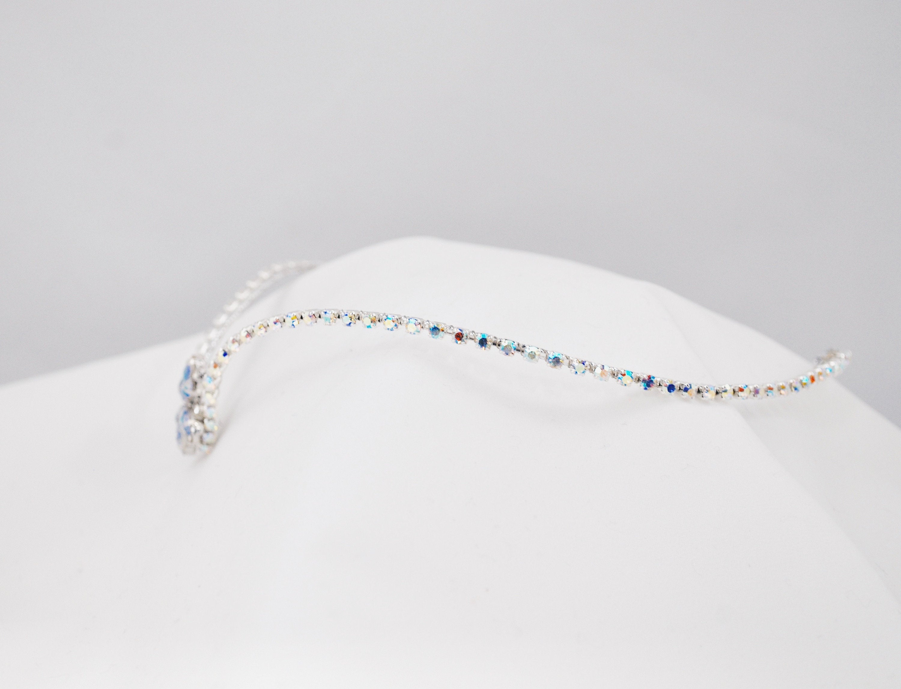 Simple Silver Ballet Diadem