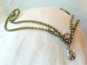 Aqua Diadem  **Ready to Ship**