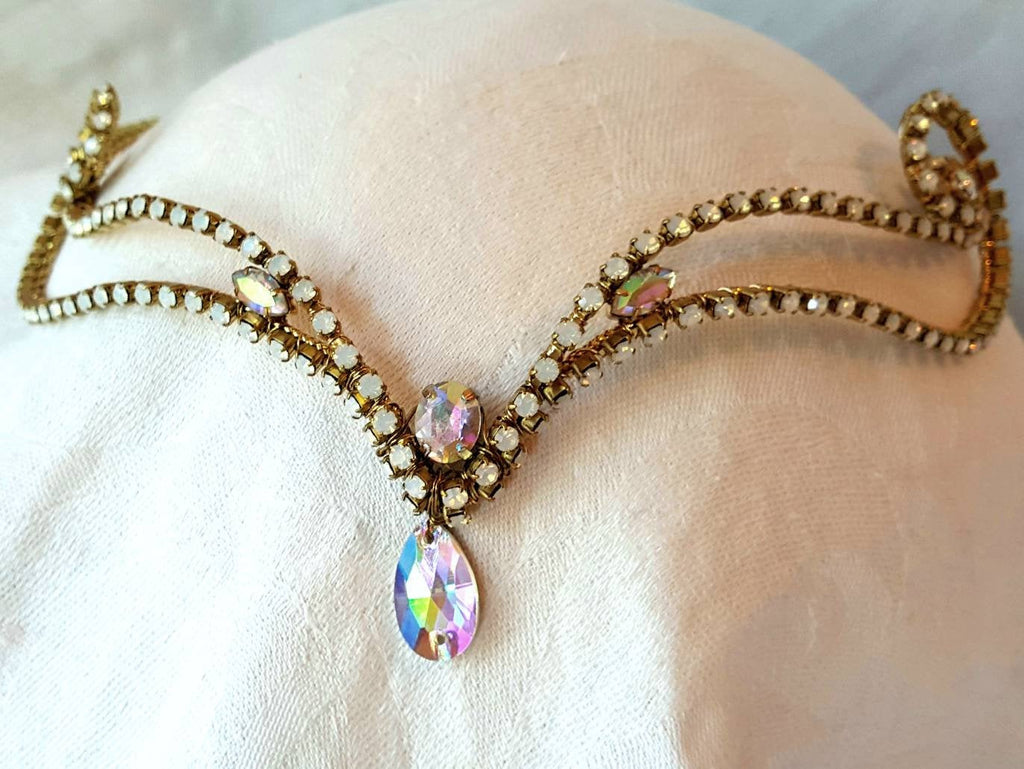 White Opal Diadem **Ready to Ship**