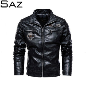 Saz Mens Leather Jackets