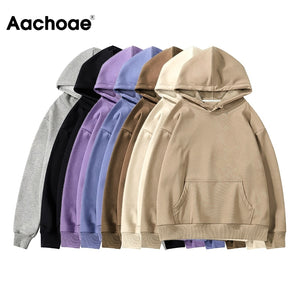 Aachoae Women Fleece Hoodies Sweatshirt 2020
