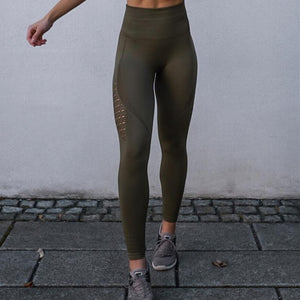 Nepoagym Women Energy Seamless Tummy Control Yoga Pants