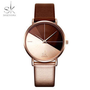 Women's Watches Fashion Leather Wrist Watch Vintage