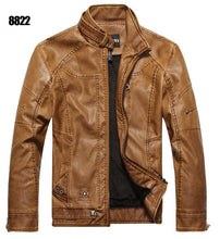 motorcycle leather  men's jacket