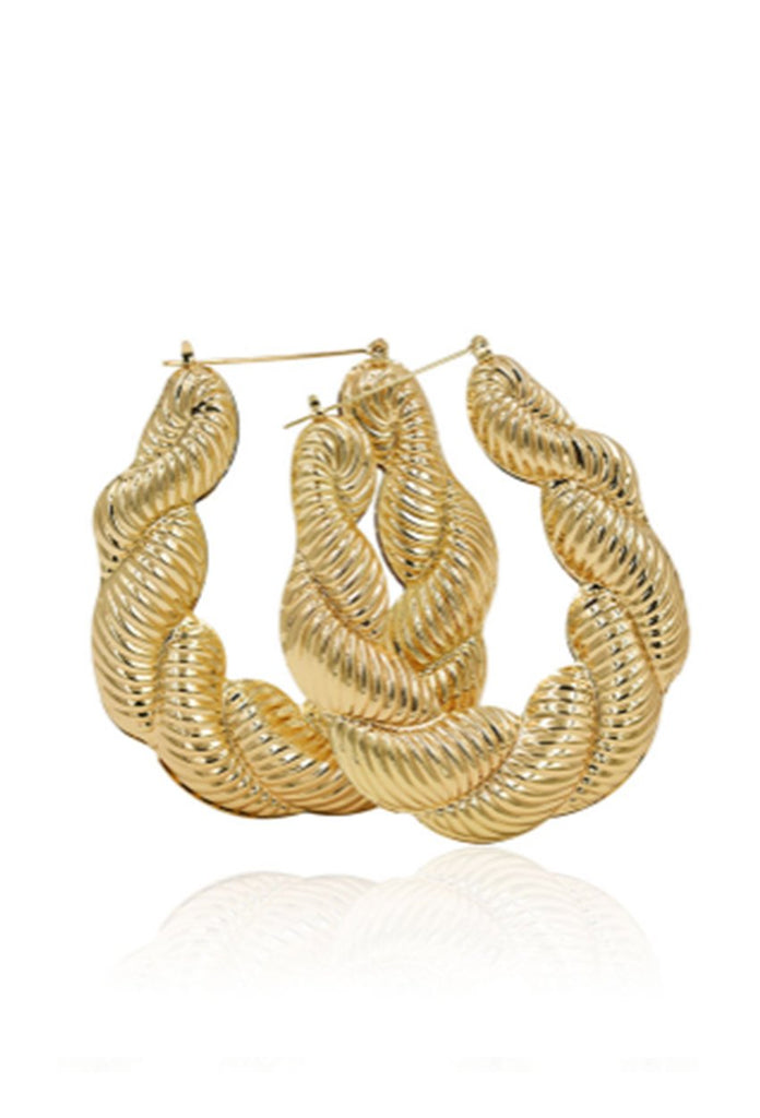 Chantelle Hoops - Amarachi Jewellery