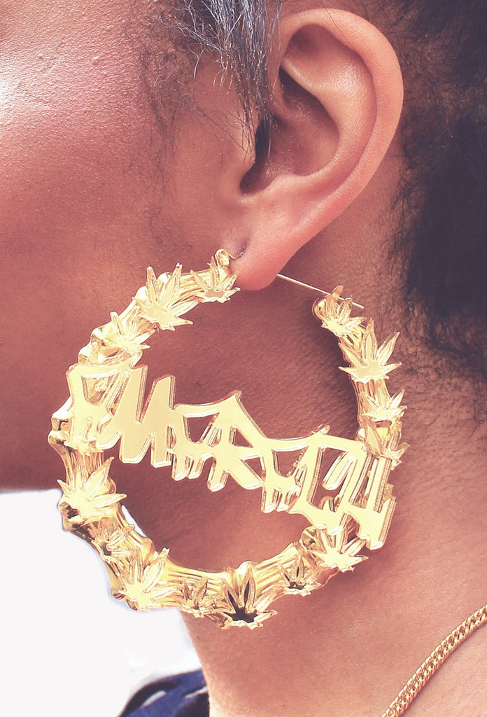 Amarachi Kush Bamboo Earrings - Amarachi Jewellery