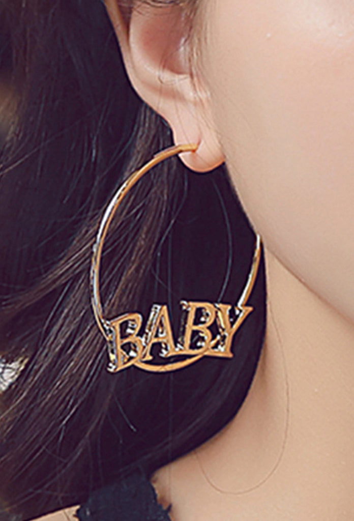 Baby Hoop Earrings - Amarachi Jewellery