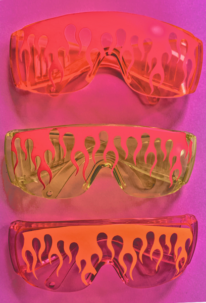 Candy Flame Goggles