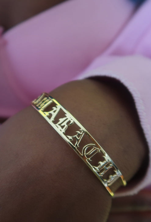 Personalised Name Bracelet - Amarachi Jewellery