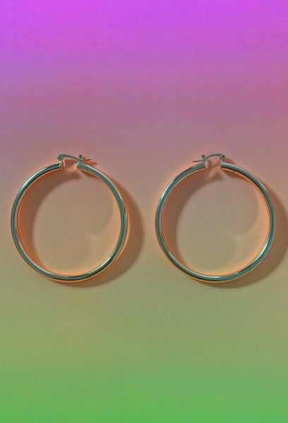 Lisa Hoops - Amarachi Jewellery