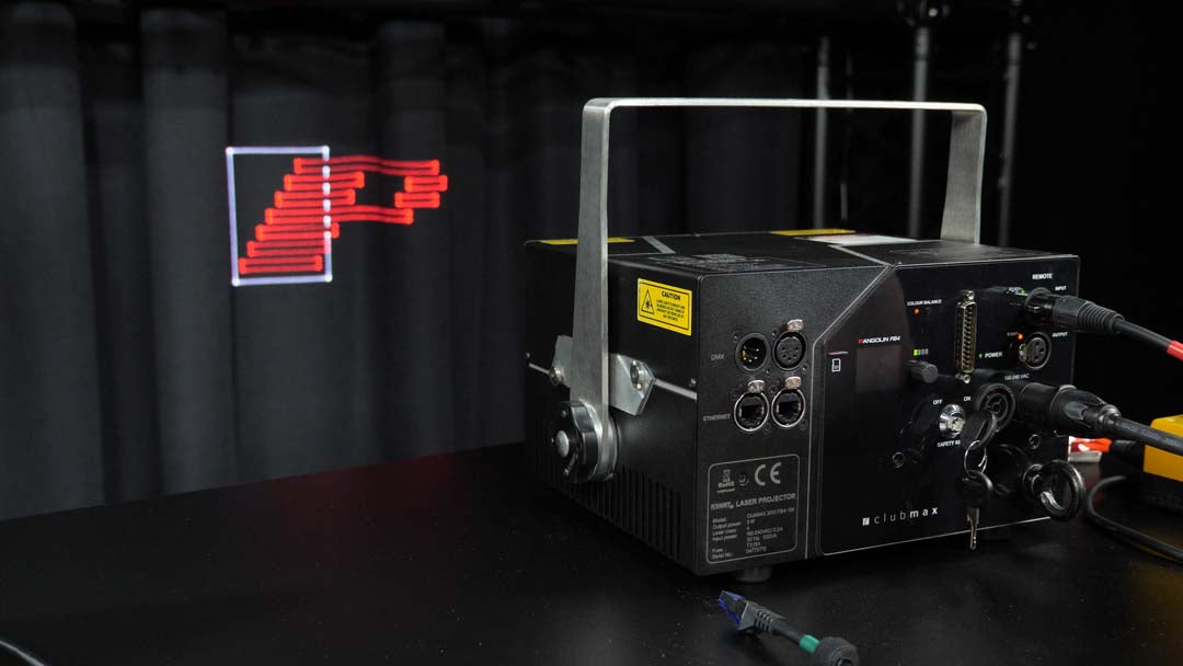 How To Setup Your KVANT Laser Projector In Auto Mode