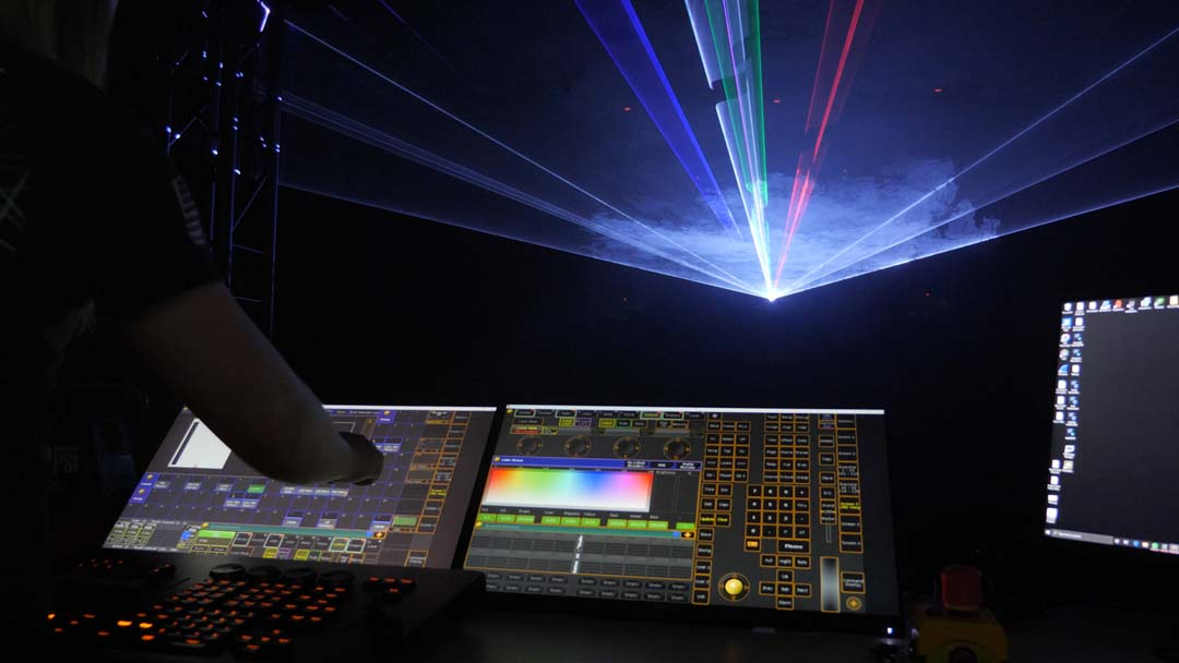 How To Setup Your KVANT Laser Projector In Console Mode
