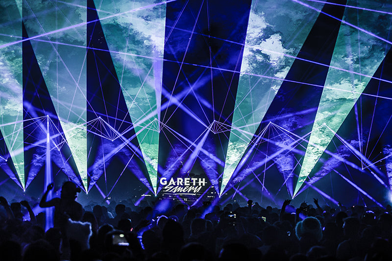 Gareth Emery's Laserface Show in San Francisco