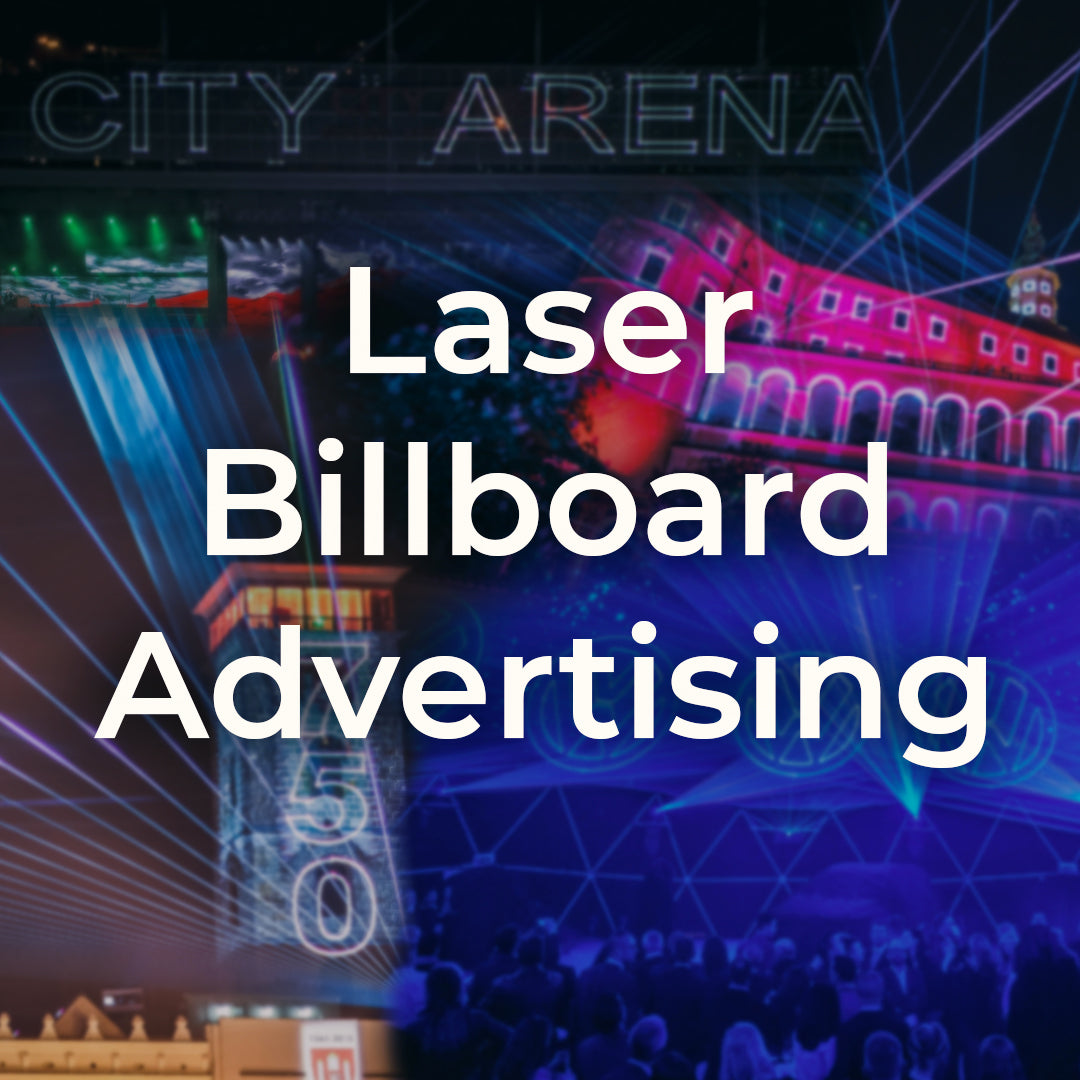 Laser Billboards