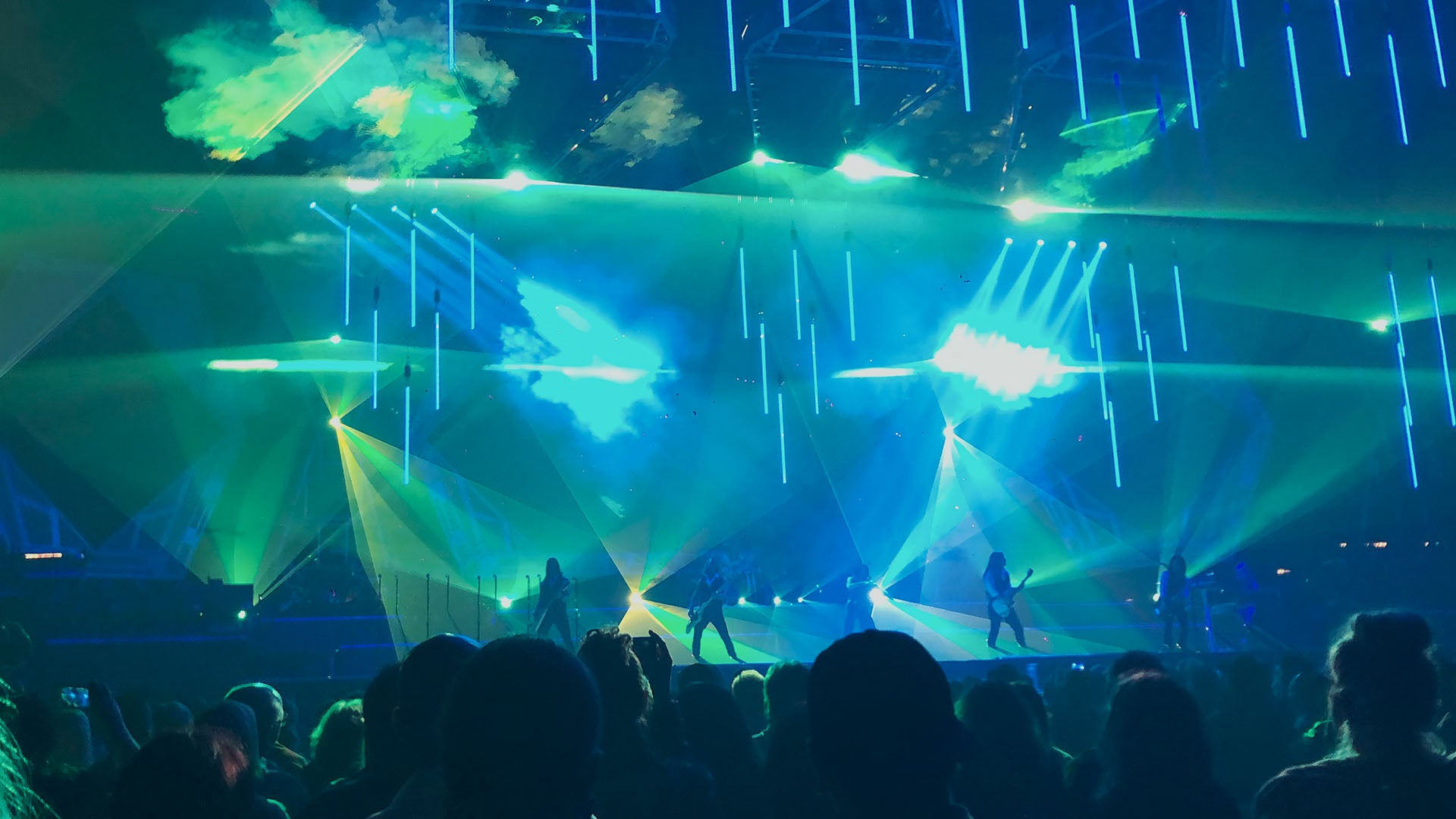 Trans-Siberian Orchestra Winter Tour 2019 Laser Spectacular!