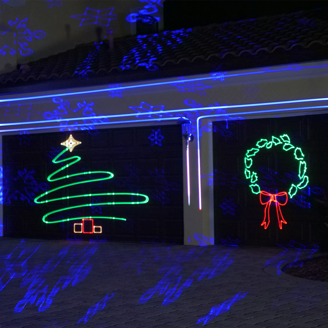 Laser Light Projectors For Christmas