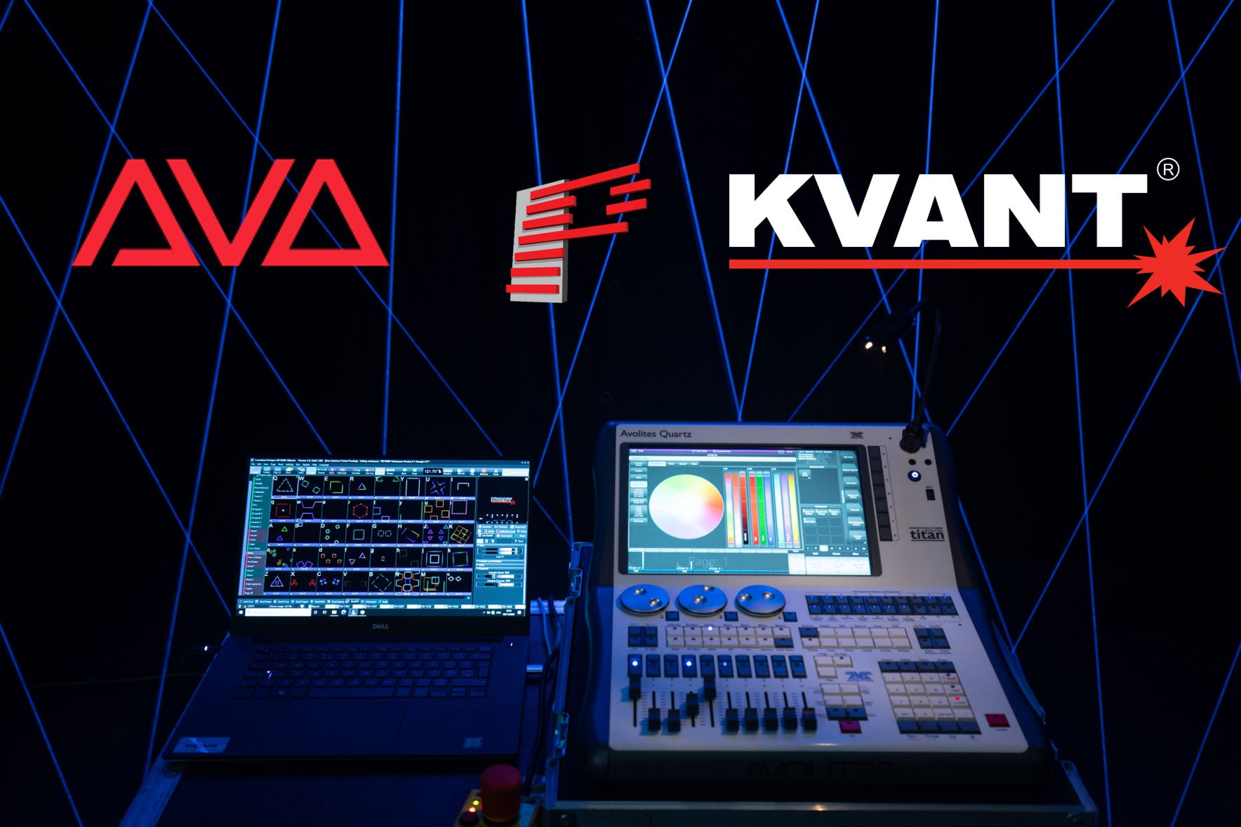 How to control your lasers from an Avolites lighting console